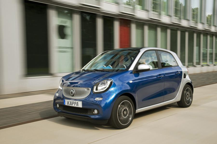 Smart ForFour Urban Shadow